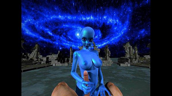 Alien Azul (Da Ba Dee) porn hentai